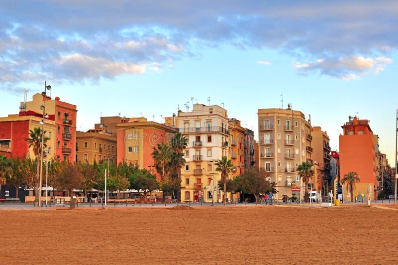 Barceloneta, Barcellona, Spagna fotografia stock