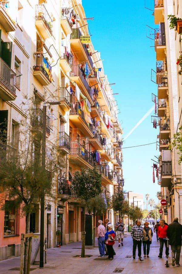 Barceloneta, Barcelona royalty-vrije stock foto's