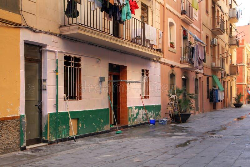 Barceloneta, Barcelona, Spain stock images