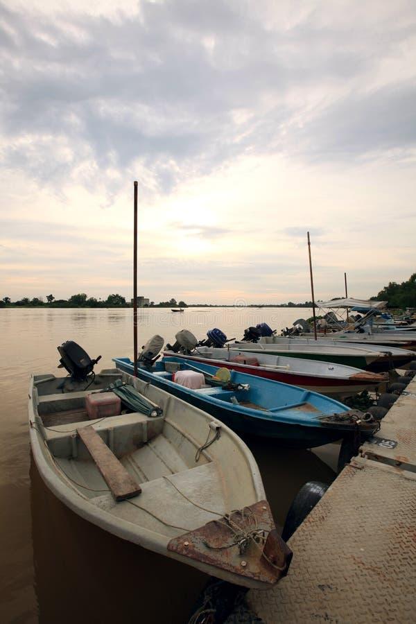Barche del pescatore fotografia stock