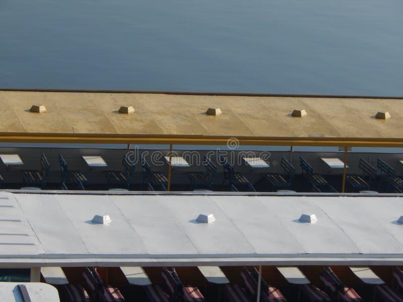 Barche di fiume nei dettagli e negli elementi immagini stock libere da diritti