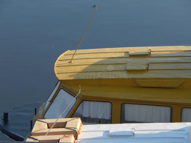 Barche di fiume nei dettagli e negli elementi immagine stock libera da diritti