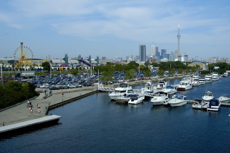 Barche di Toronto fotografie stock libere da diritti