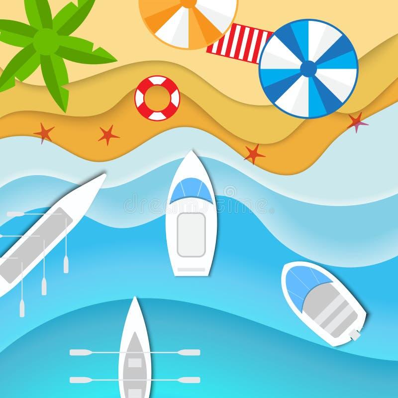 Barche e yacht royalty illustrazione gratis