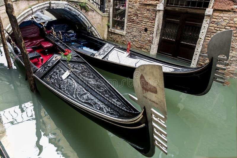 Barche Gondole Venezia photos stock