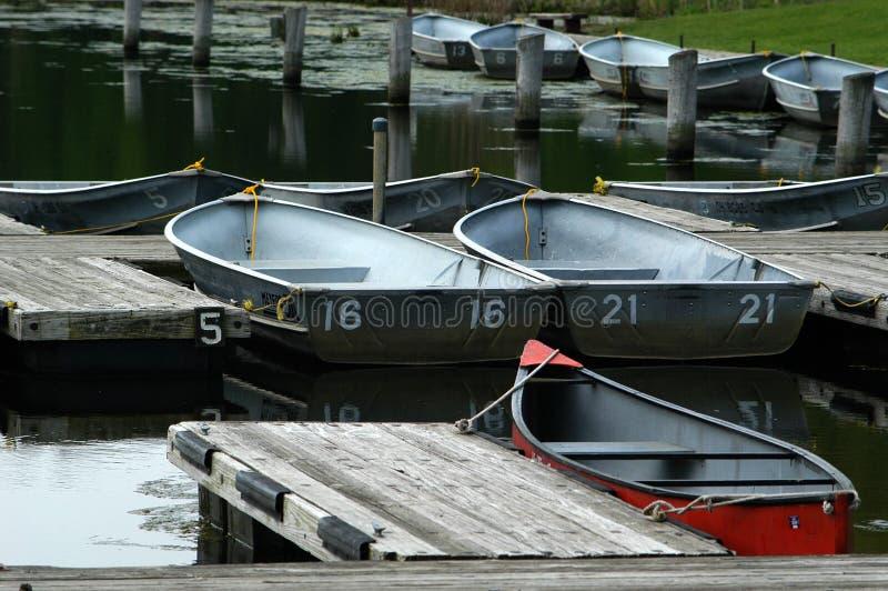 Barche Locative Fotografia Stock Libera da Diritti