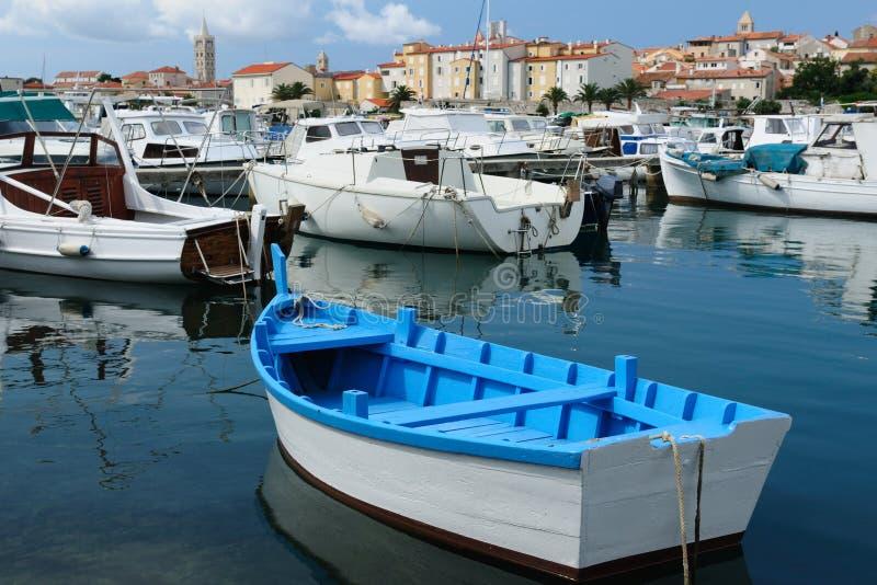 Barche nel porto immagini stock libere da diritti