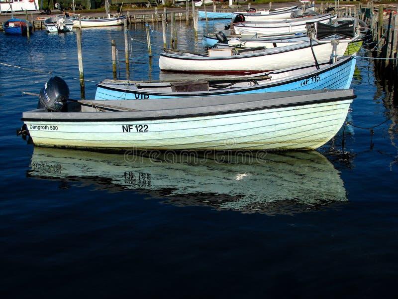 Barche nel porto fotografia stock libera da diritti