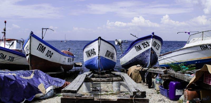 Barche sul bacino immagini stock libere da diritti