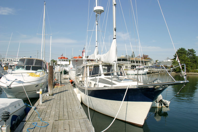Barche a vela immagini stock