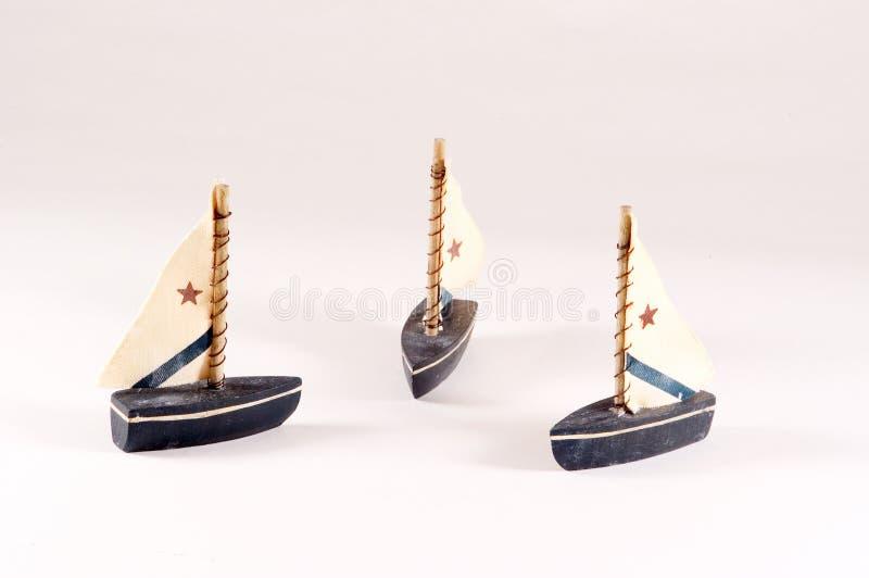 Barche A Vela Decorative Fotografia Stock Libera da Diritti