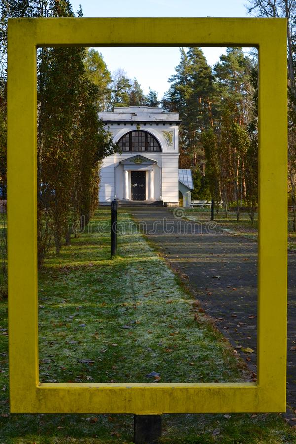 Barclay de Tolly Mausoleum arkivfoto