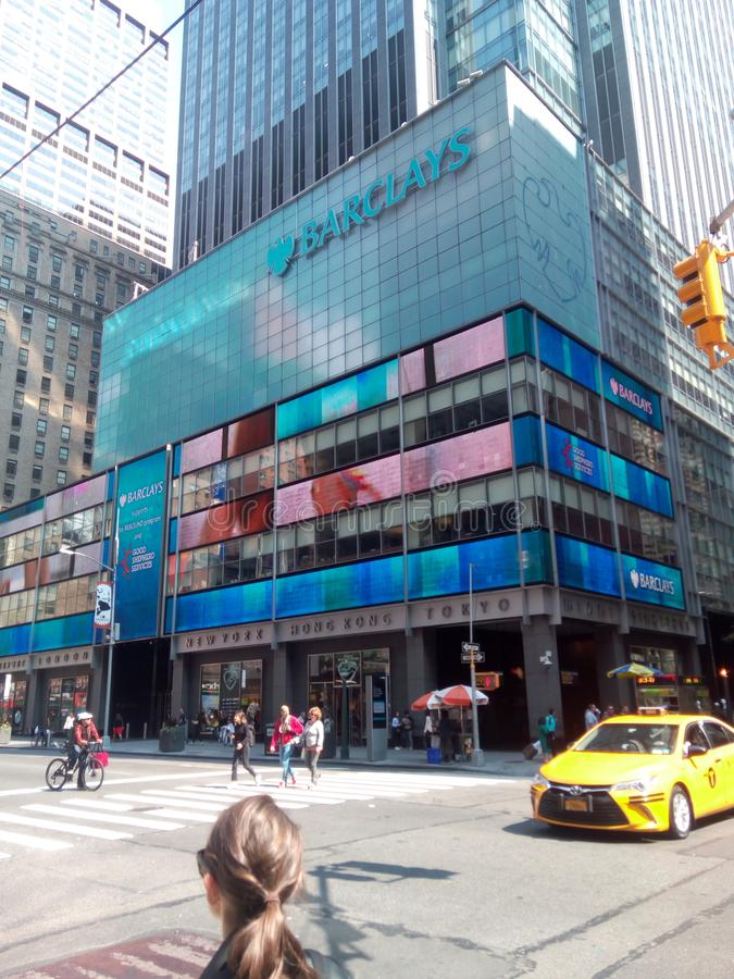 Barclays arkivfoton