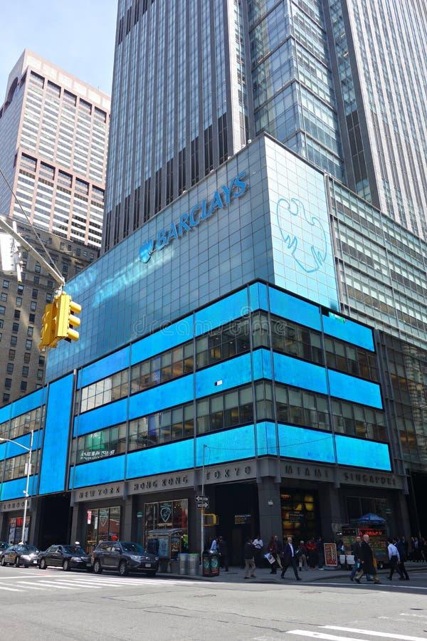 Barclays stockfoto