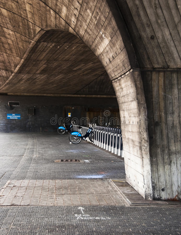 Download Barclays Bicycle Under A Bridge In London, UK Editorial Photography - Image: 20603482