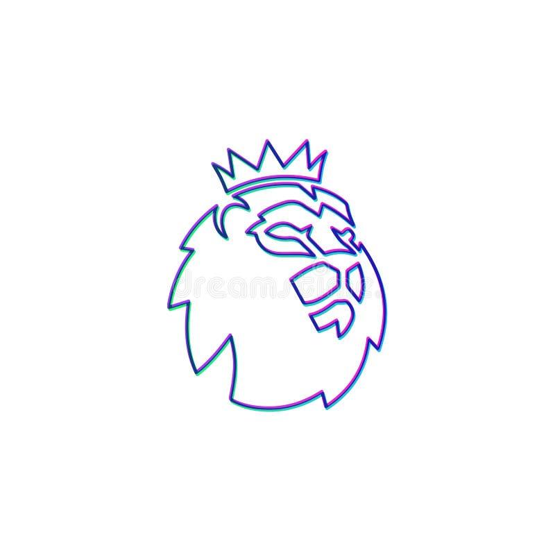 barclays epl logo oficjalnego szablonu ikony symbolu wektorowa ilustracja ilustracji