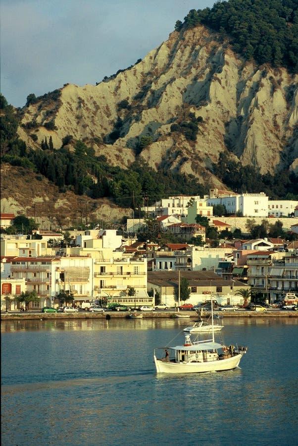 Download Barco foto de archivo. Imagen de paisaje, grecia, barco - 178698