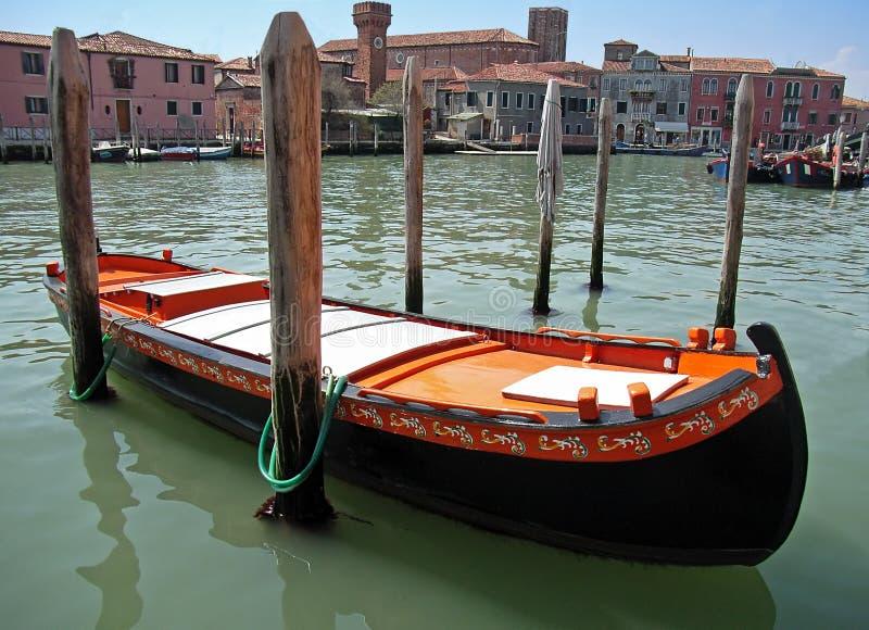 Barco adornado imágenes de archivo libres de regalías