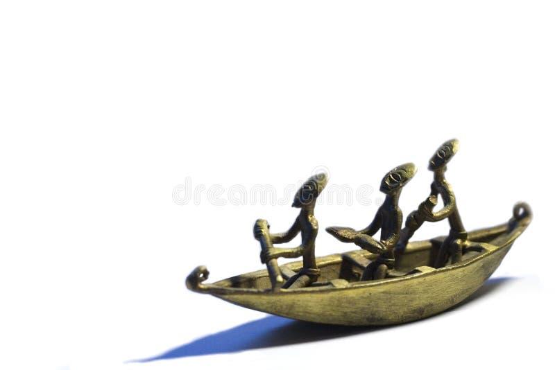 Barco africano imagen de archivo libre de regalías