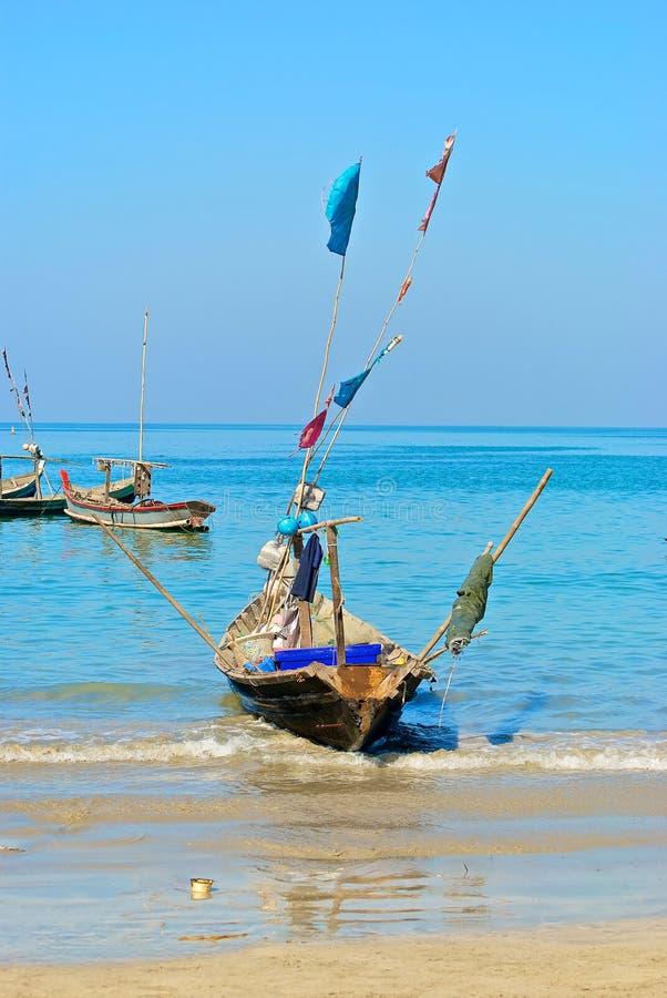Barco Burmese imagen de archivo libre de regalías