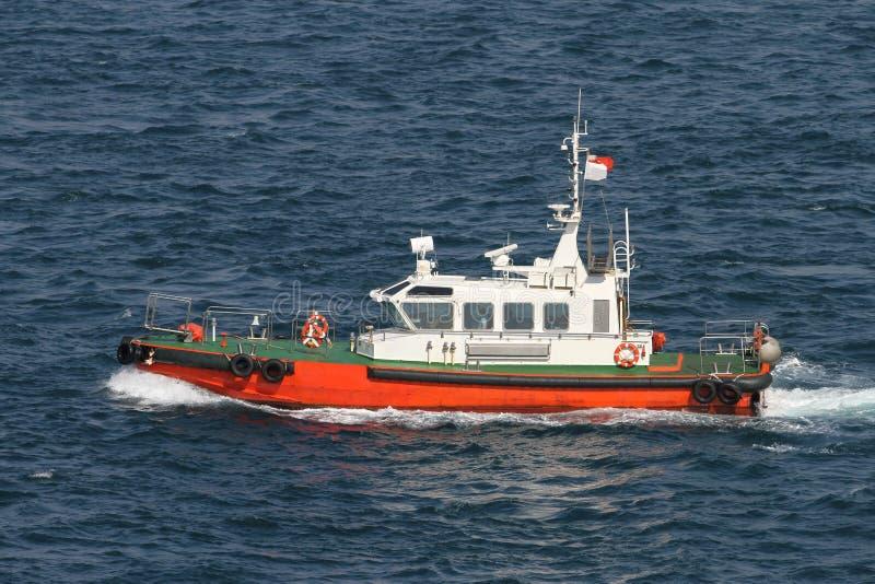 Barco costero de la seguridad foto de archivo