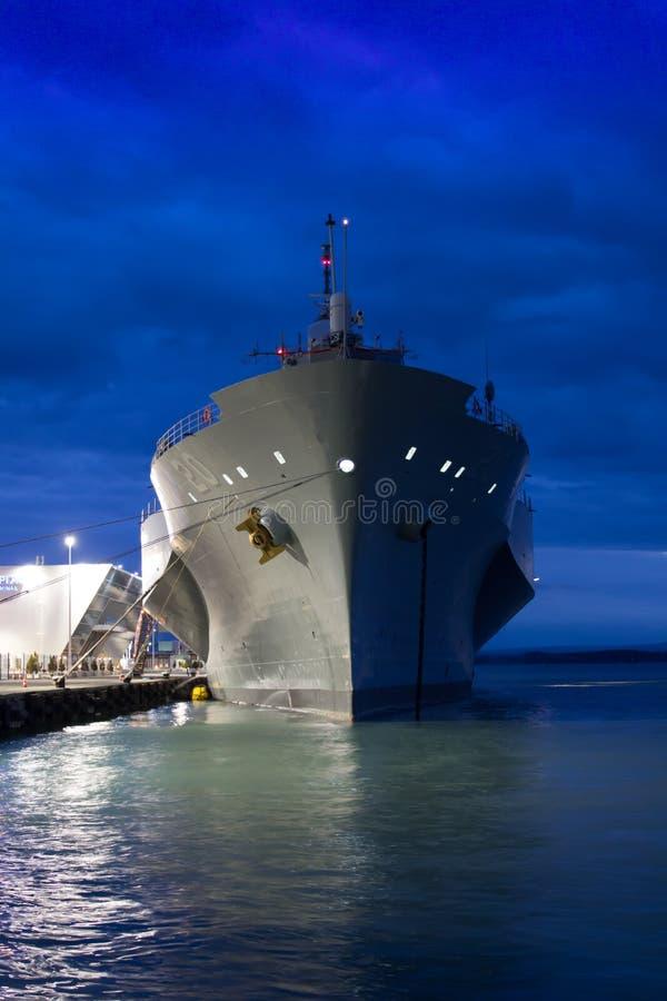 Barco da Armada dos E.U. fotos de stock