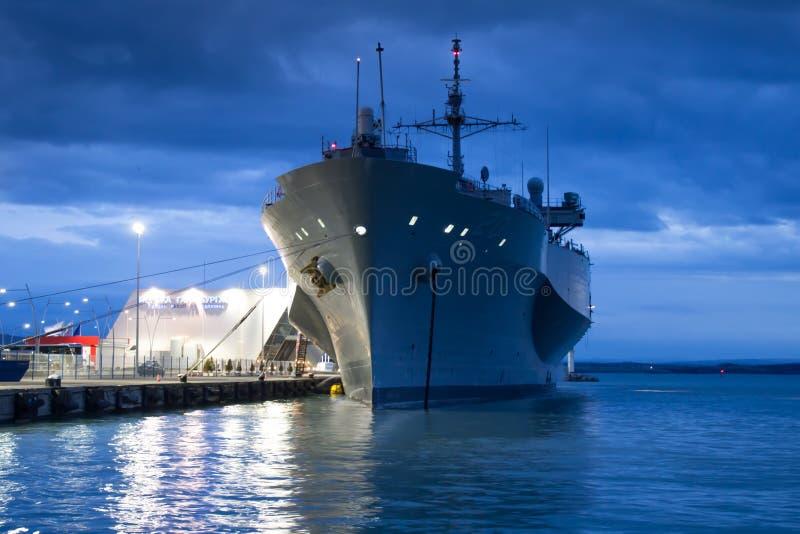 Barco da Armada dos E.U. foto de stock