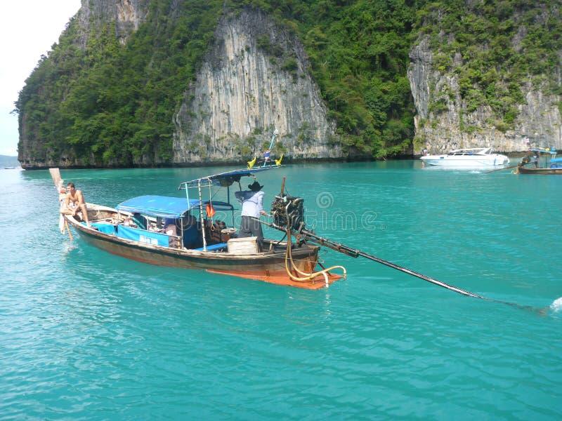 barco da Longo-cauda imagens de stock royalty free