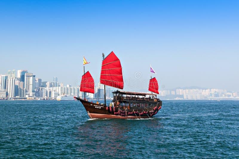 Barco de Aqua Luna fotografia de stock