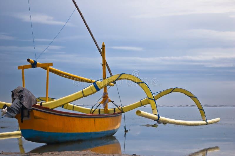 Barco de Bali fotos de stock royalty free