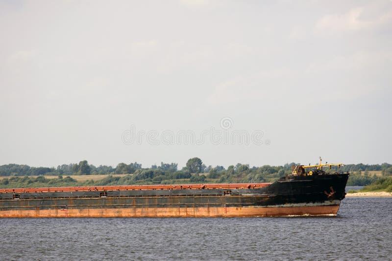 Barco de carga imagen de archivo