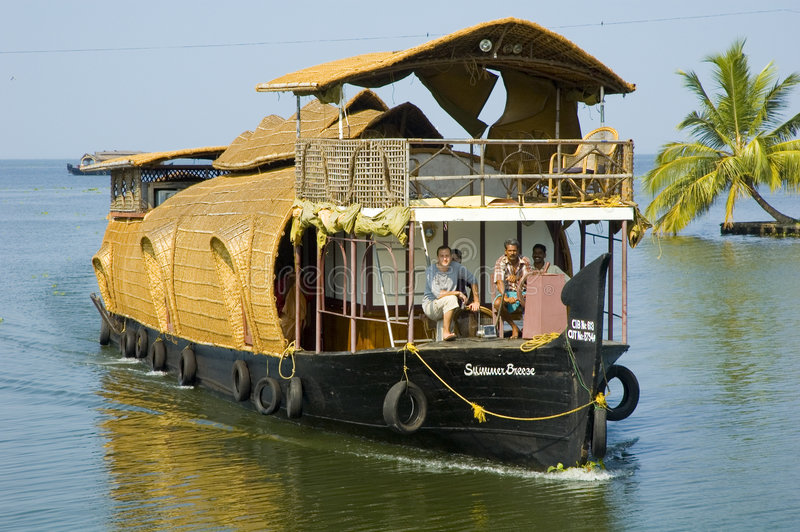Barco de casa foto de stock