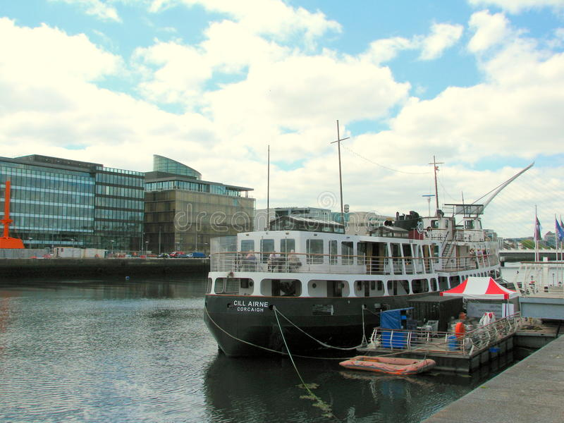 Barco de Cill Airne Corcaigh fotografia de stock