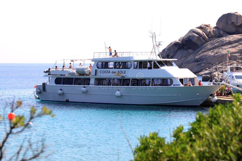 Barco de Costa del Sole de Marcopolo2 fotografía de archivo libre de regalías