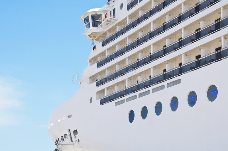 Barco de cruceros. fotografía de archivo
