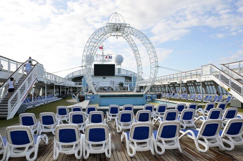Barco de cruceros. foto de archivo libre de regalías