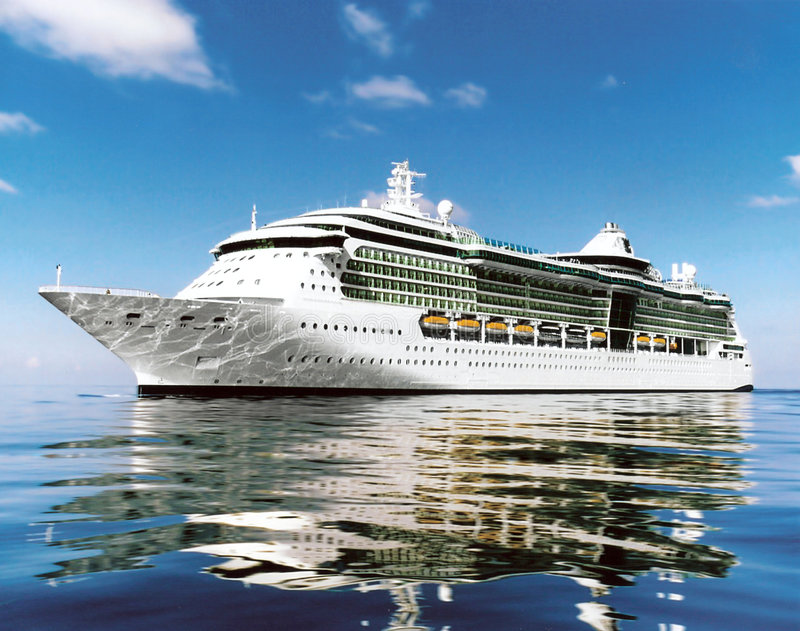 Barco de cruceros imagen de archivo libre de regalías