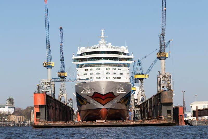 Barco de cruceros de Aida Luna fotos de archivo