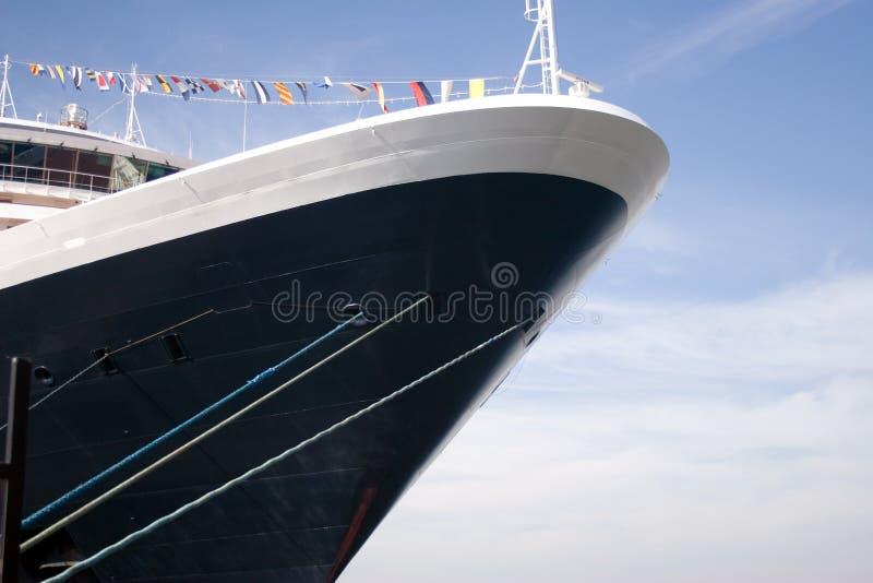 Barco De Cruceros Del Revestimiento Marino Fotografía de archivo