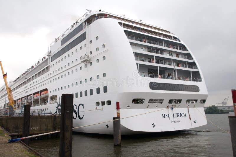 Barco De Cruceros - Lyrica Imagen de archivo editorial