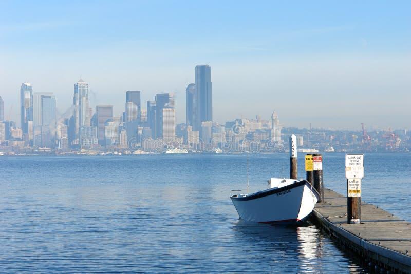 Barco de fila fotografía de archivo libre de regalías