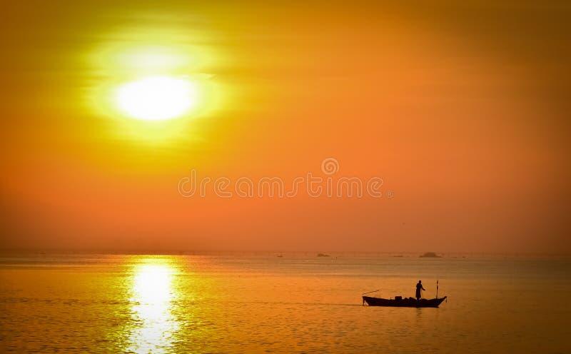 Barco de Fisher imagens de stock