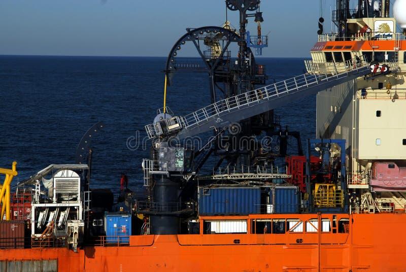 Barco de funcionamento foto de stock