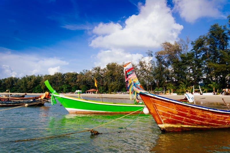 Barco de la cola larga, Phuket, Tailandia imagenes de archivo