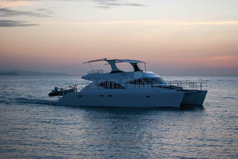 Barco de la velocidad foto de archivo
