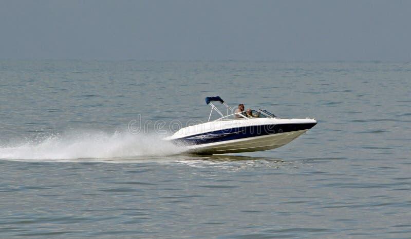 Barco de la velocidad del poder fotos de archivo