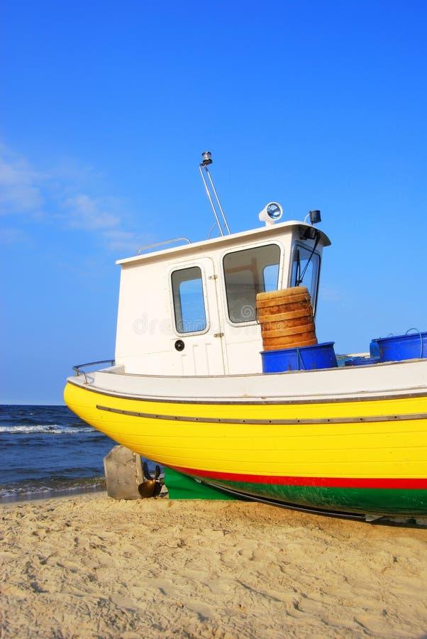 Barco de madeira fotografia de stock