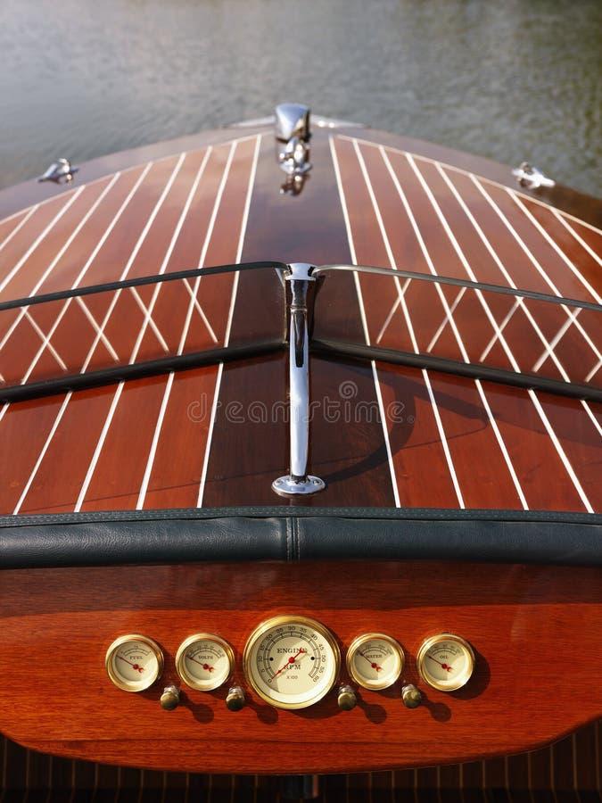 Barco de madeira. imagens de stock