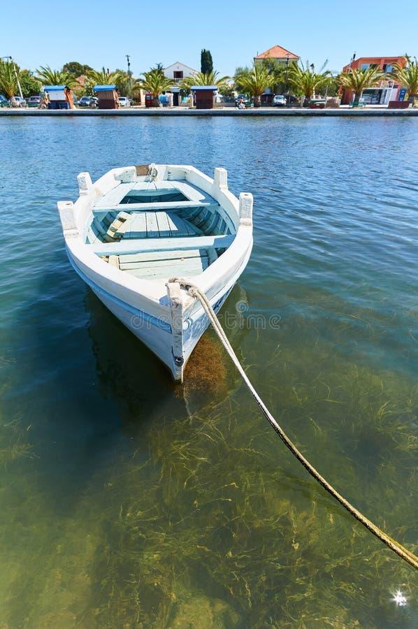 Barco de madera viejo foto de archivo libre de regalías