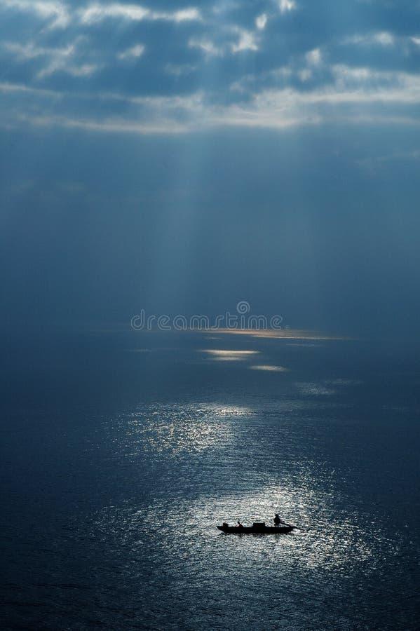 Barco de mar fotos de stock